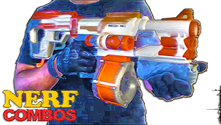 nerf combos for the nerf modulus series blasters