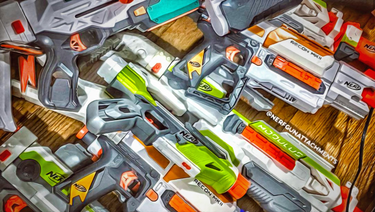 nerf combos for modulus blasters