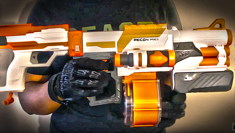 nerf combos for the nerf modulus recon mkii
