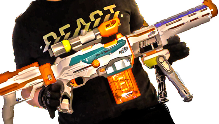 nerf combos for the nerf modulus tristrike